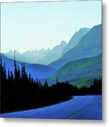Banff Jasper Blue Metal Print