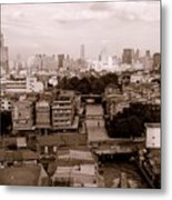 Bangkok City Metal Print