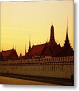 Bangkok Royal Palace Complex Metal Print