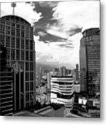 Bangkok Skies Metal Print