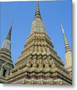 Bangkok, Wat Po Metal Print