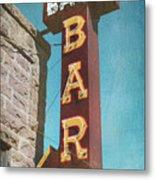 Bank Bar Metal Print