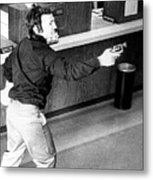 Bank Holdup, 1973 Metal Print