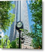 Bank Of America Corporate Center In Charlotte, Nc Metal Print