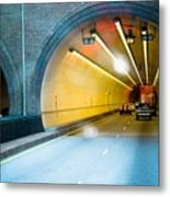 Bankhead Tunnel Metal Print