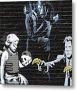 Banksy - Failure To Communicate Metal Print