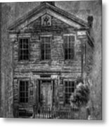Bannack School  Metal Print