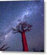Baobab Milky Way Metal Print