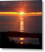Baptism Sunrise Metal Print