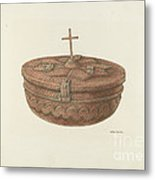 Baptismal Font Metal Print