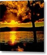 Baptized By Fire Metal Print