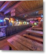 Bar At The Dixie Chicken Metal Print
