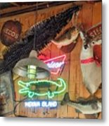 Bar Decor Metal Print