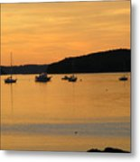 Bar Harbor Sunrise 3 Metal Print