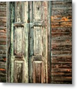 Baracoa Window 2 Metal Print
