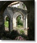 Barbados Ruins Metal Print