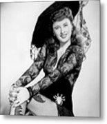 Barbara Stanwyck Metal Print