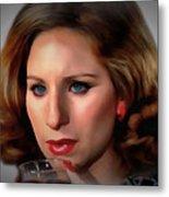 Barbara Streisand Collection - 1 Metal Print