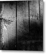 Barbed Wire Cross Metal Print