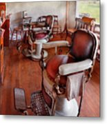 Barber - Please Have A Seat Metal Print