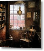 Barber - Remembering The Old Days Metal Print