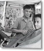 Barbers 2 Metal Print