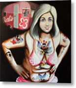 Barbielicious Metal Print
