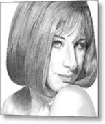 Barbra Streisand Metal Print
