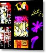 Barcelona Graffiti  Metal Print by Funkpix Photo Hunter
