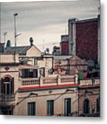 Barcelona Roofscape Metal Print