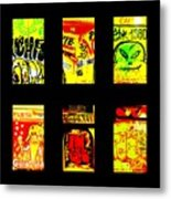 Barcelona Store Fronts Metal Print by Funkpix Photo Hunter