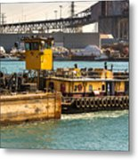 Barge Movement With The Morgan Metal Print
