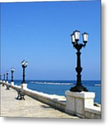 Bari Waterfront Metal Print