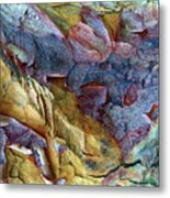 Bark Abstract Metal Print