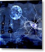 Bark At The Moon Metal Print