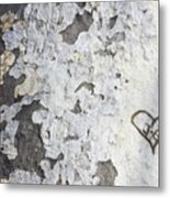 Bark With Heart Metal Print