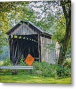 Barkhurst Covered Bridge  Metal Print