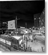 Barking Crab Boston Ma Black And White Metal Print
