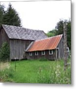 Barn    Washington State Metal Print