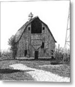 Barn 10 Metal Print by Joel Lueck