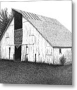 Barn 16 Metal Print by Joel Lueck