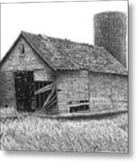 Barn 19 Metal Print by Joel Lueck