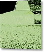 Barn Abstract Metal Print
