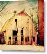 Barn For Sale Metal Print