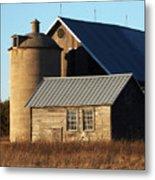Barn At 57 And Q Metal Print