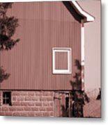 Barn Detail Metal Print