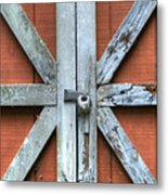 Barn Door 1 Metal Print by Dustin K Ryan