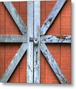 Barn Door 2 Metal Print by Dustin K Ryan