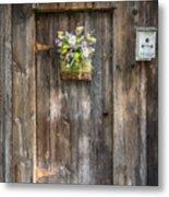 Barn Door Metal Print