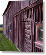 Barn Door Small Metal Print